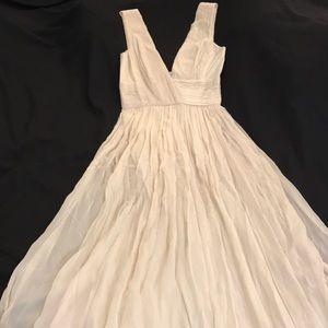 Dresses & Skirts - Dina Bar-El 100% Silk Evening Gown